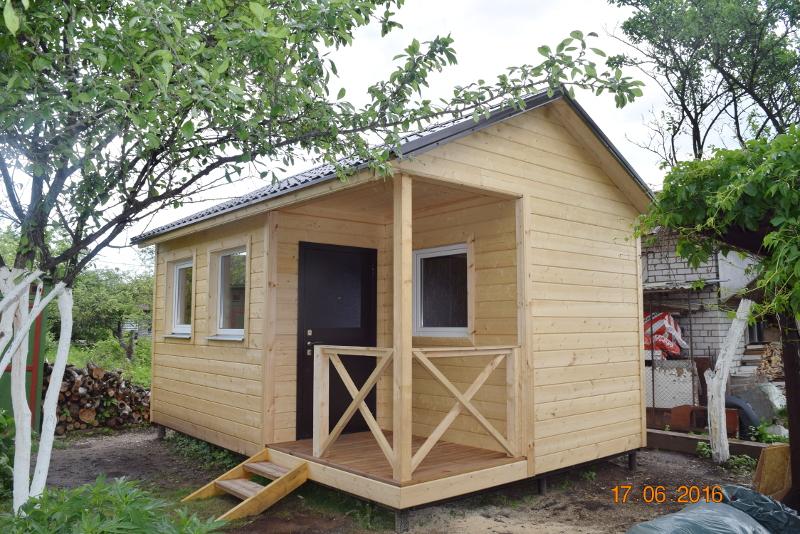 Дом 15,2 м2 + терраса 2,1 м2